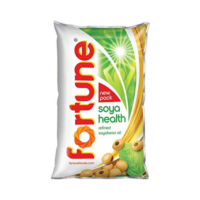 Fortune Refined Soyabean Oil 1 Ltr Pouch